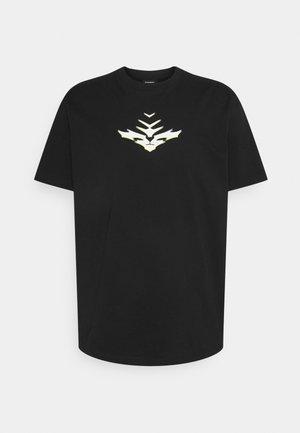 T-JUST-E14 - T-shirt imprimé - black