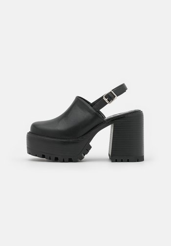 BROKE - Platform heels - black
