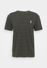 REVOLUTION - STRIPED - T-shirt print - army melange - 4