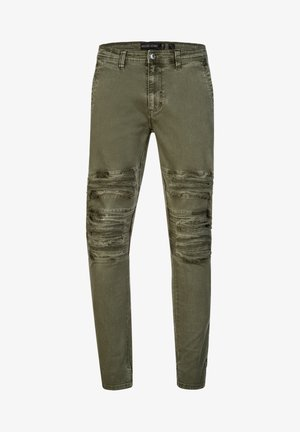 ROTH - Slim fit jeans - army