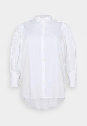 SLFMOLLY - Button-down blouse - bright white