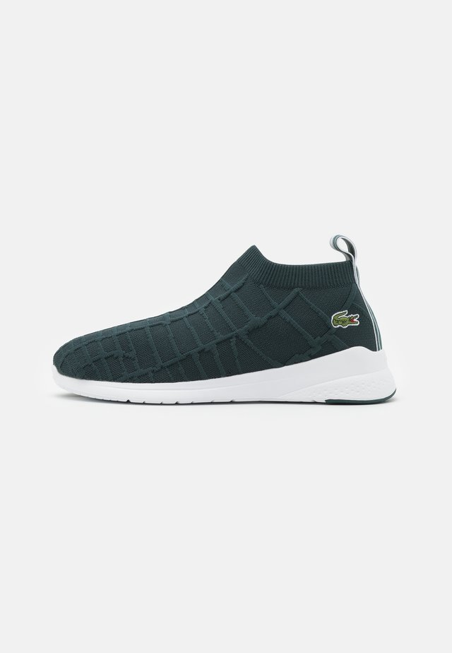 FIT SOCK - Trainers - dark green/white