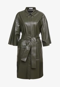 CLOSED - SHILOH - Blousejurk - shadow green - 4