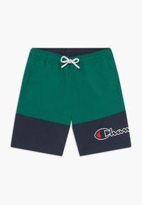 Champion - Swimming shorts - green/dark blue - 0