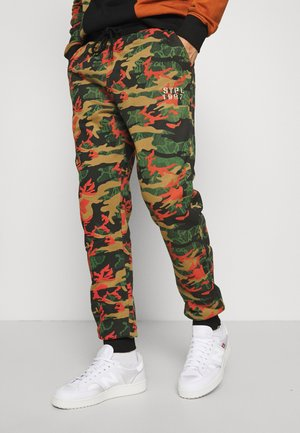 CAMO UNISEX  - Tracksuit bottoms - black