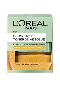 L'Oréal Paris Skin - CLAY ABSOLUTE GLOW MASK 50ML - Face mask - - - 2