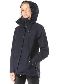 Jack Wolfskin - Waterproof jacket - blue - 2