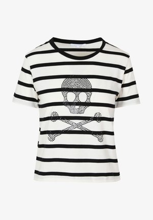 T-shirt z nadrukiem - black stripes