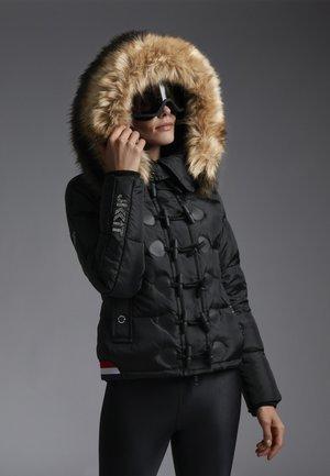 RISING SUN APACHE - Down jacket - black