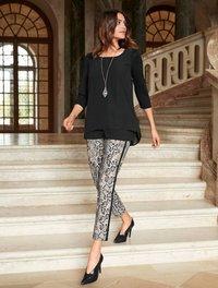 Alba Moda - Trousers - grey - 1