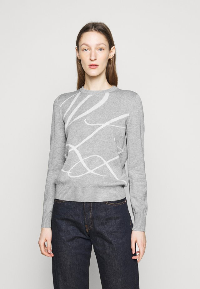 Sweter - pearl grey heather
