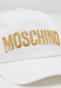 MOSCHINO - HAT - Gorra - optical white - 2