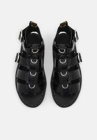 Dr. Martens - MACKAYE - Platform sandals - black buttero - 4