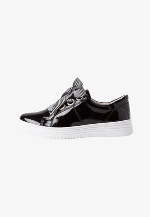 Sneakers laag - black patent