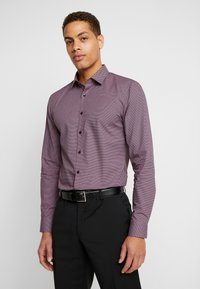 OLYMP No. Six - OLYMP NO.6 SUPER SLIM FIT  - Formal shirt - rot - 0