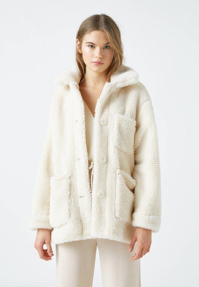 Kurtka zimowa - beige
