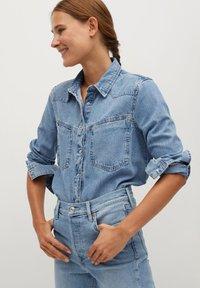 Mango - GISELE - Jeans slim fit - mittelblau - 4