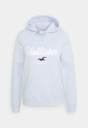 CHAIN TECH CORE - Hoodie - light blue