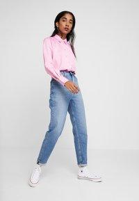 Miss Selfridge - BUBBLEGUM - Button-down blouse - pink - 1