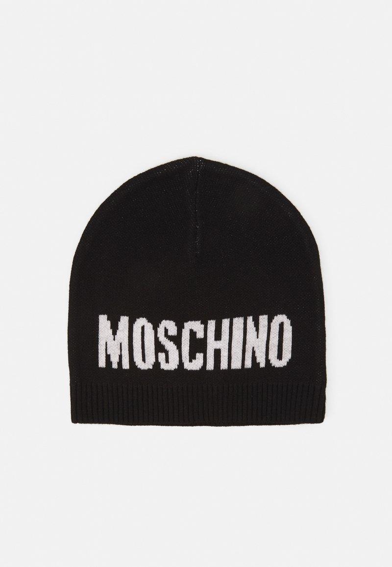 MOSCHINO - HAT UNISEX - Beanie - black
