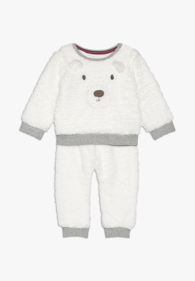 BABY SET - Fleecegenser - white