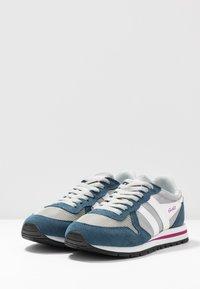 Gola - DAYTONA - Sneakersy niskie - light grey/baltic/white - 4