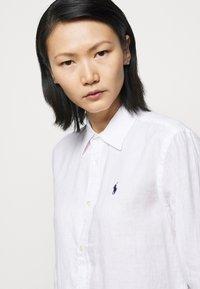 Polo Ralph Lauren - PIECE DYE - Button-down blouse - white - 5