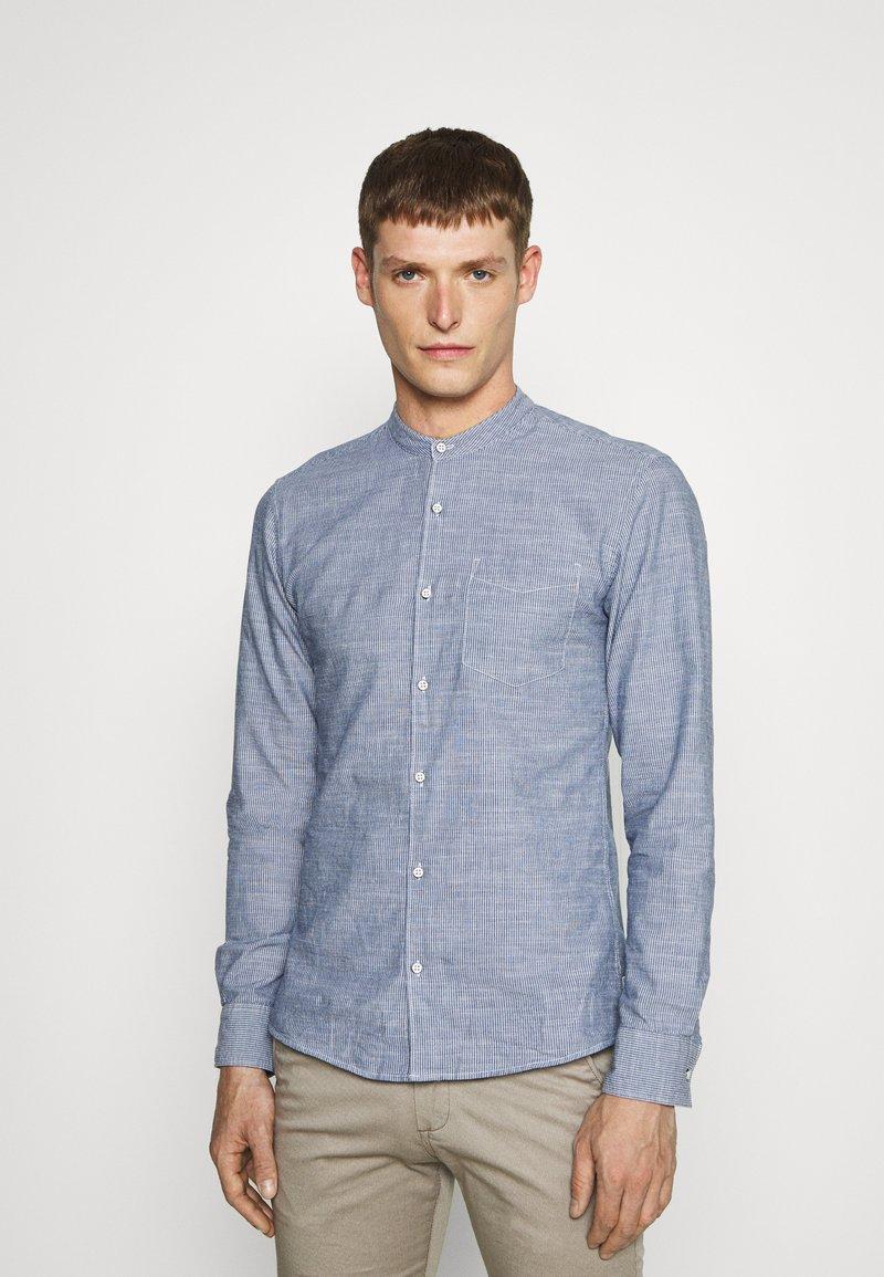 Q/S designed by - LANGARM - Shirt - blue