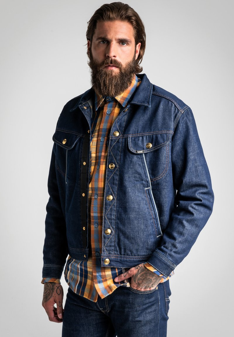 Lee - TECHNICAL RIDER - Denim jacket - grey