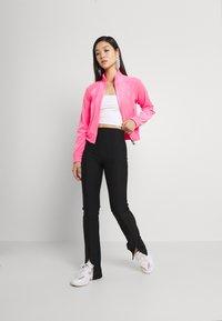 Juicy Couture - TANYA TRACK - Sweater met rits - fluro pink - 1