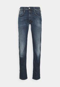 Replay - ANBASS - Straight leg jeans - dark blue denim - 5