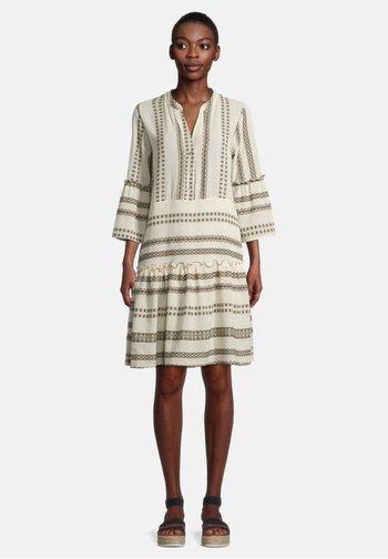 Robe d'été - cream/khaki
