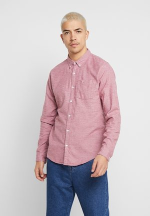 SLIM FIT - Shirt - red solid