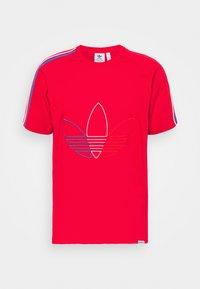adidas Originals - FTO ADICOLOR PRIMEBLUE - Print T-shirt - scarlet - 5