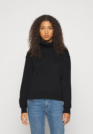 VMMERCY ROLL NECK - Sweatshirt - black
