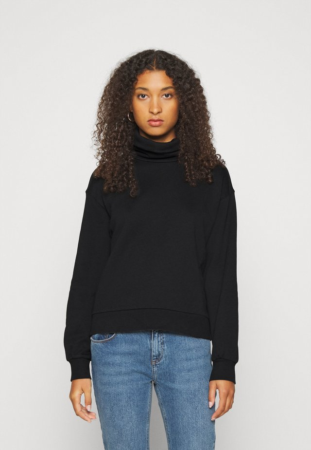 VMMERCY ROLL NECK - Bluza - black