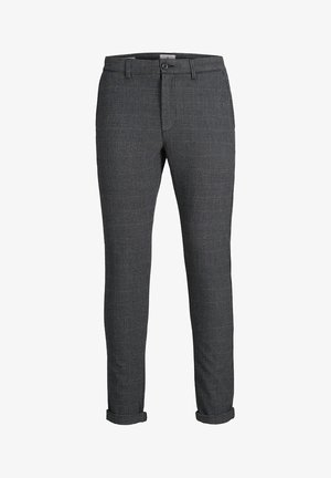 MARCO STUART - Chinos - charcoal gray