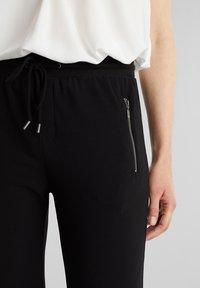 Esprit - Teplákové kalhoty - black - 4