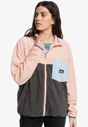 HERITAGE - Fleece jacket - peach