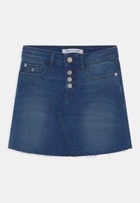 Calvin Klein Jeans - ALINE - Mini skirt - denim - 0