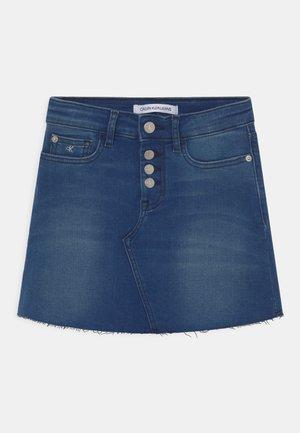 ALINE - Mini skirt - denim