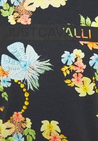 Just Cavalli - T-shirt imprimé - black - 5