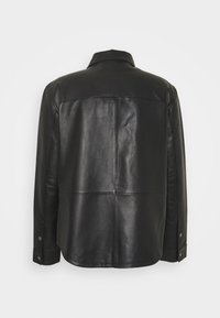 STUDIO ID - LEONARDOS - Leather jacket - black - 6