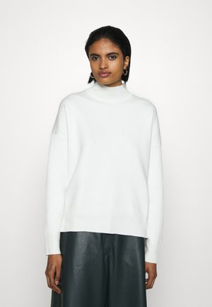 MILANO STAND NECK - Neule - off white