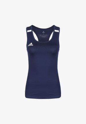 TEAM 19 COMPRESSION FUSSBALLTANK DAMEN - Funktionsshirt - navy blue/white