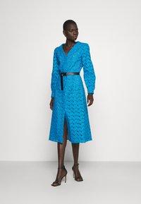 MICHAEL Michael Kors - EYELT KATE DRESS - Day dress - cyan blu - 1