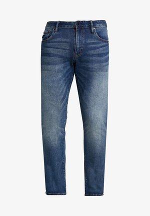 DAMAN - Jeans a sigaretta - sixways mid blue