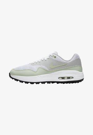 AIR MAX 1 G - Scarpe da golf - white/neutral grey/black/jade aura
