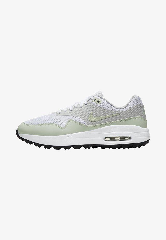 AIR MAX 1 G - Obuwie do golfa - white/neutral grey/black/jade aura