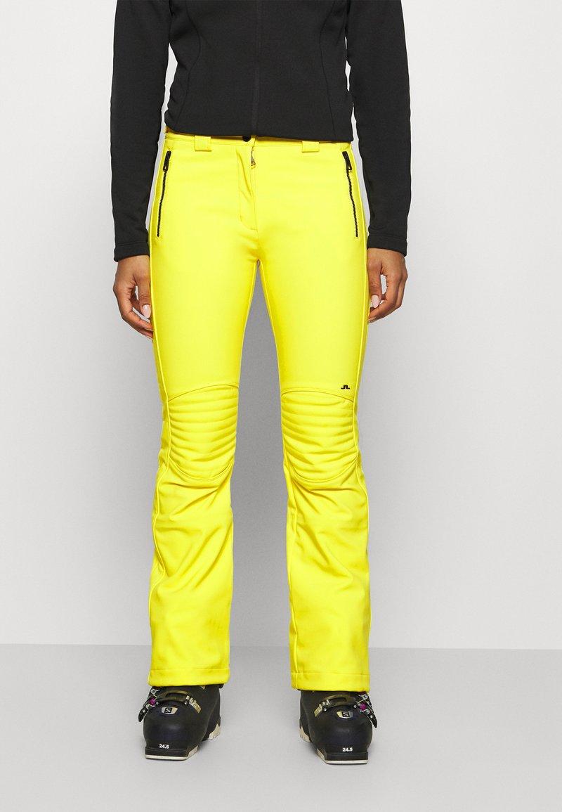 J.LINDEBERG - STANFORD - Spodnie narciarskie - banging yellow